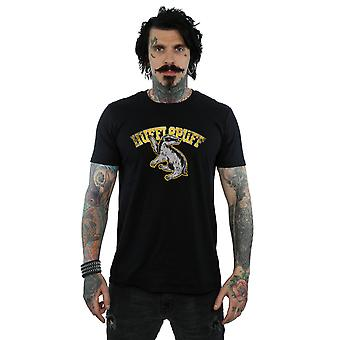 Harry Potter Men's Hufflepuff Sport Emblem T-Shirt