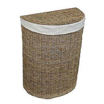 Malý Seagrass půlkruh Prádelní koš