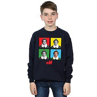 Elf Boys Four Faces Sweatshirt