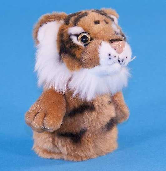 Dowman Tiger Finger Puppet Soft Toy