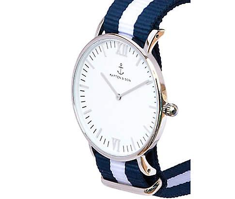 Truncated and Son Watch Silver Sail Campina 4251145212025