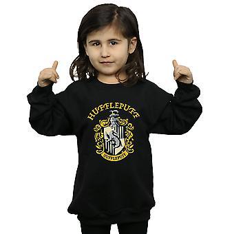 Harry Potter Girls Hufflepuff Crest Sweatshirt