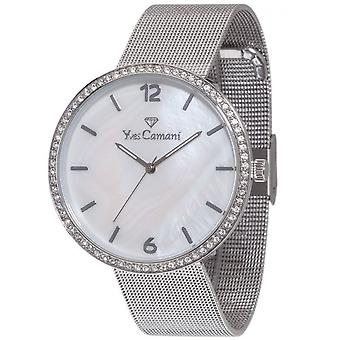 Yves Camani Damenuhr of Adorian ladies silver YC1086-A