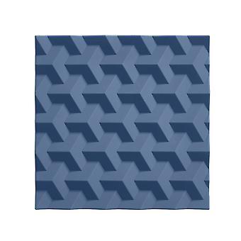 Zone Silicone Trivet, Denim Origami