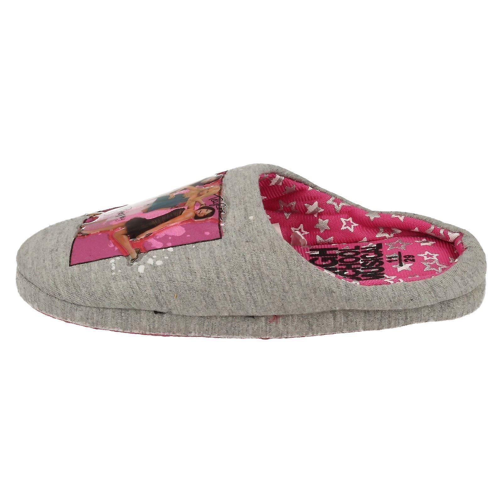 Girls Spot On Slip On High School Musical Mule Slippers