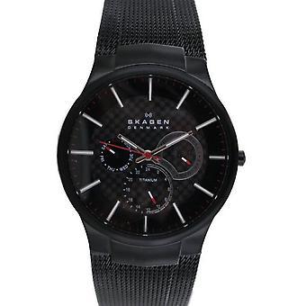 Reloj Skagen reloj de pulsera titanio acero inoxidable 809XLTBB