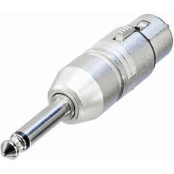 Neutrik NA2FP XLR adapter XLR-stik - Stik 6,35 mm Mono 1 pc(er)