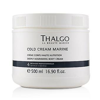 Thalgo Cold Cream Marine Deeply Nourishing Body Cream (salon Size) - 500ml/16.7oz