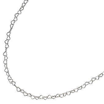 Halsband halsband för barn hjärtan sterling silver