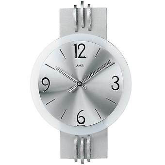 Quartz wall clock wall clock with quartz polished aluminum quartz wall clock