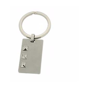 ZOPPINI Stainless Steel Keyring