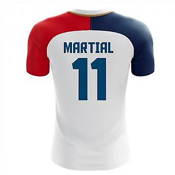 2020-2021 France Away Concept Shirt (Martial 11) - Kids