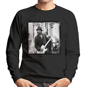 TV-Zeiten Muddy Waters Blues und Gospel Train 1964 Herren Sweatshirt