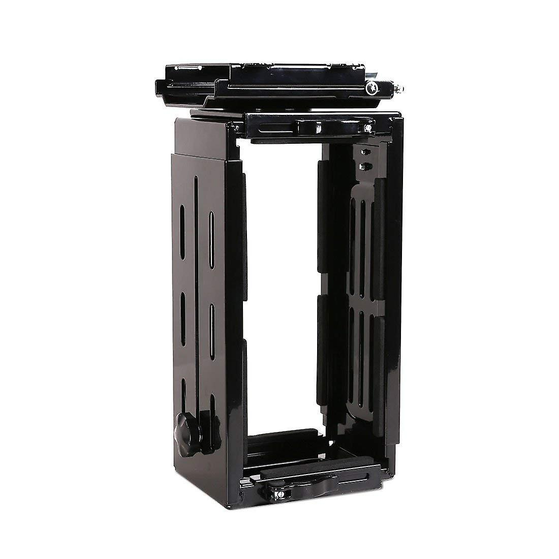 Flexispot Adjustable Under Desk Cpu Mount 180-Degree Swivel Cpu Holder Desk And Floor Space Saving.