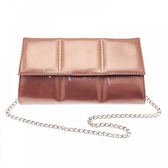 Renata Fold Over Clutch With Strap
