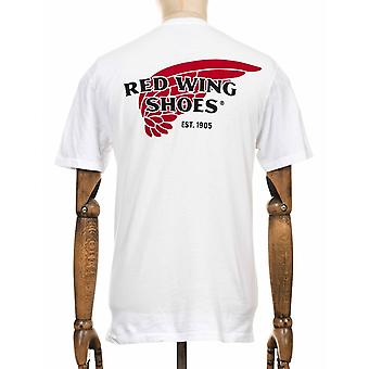 Red Wing 97403 Red Wing Logo Tee - wit