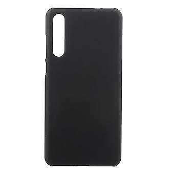 Huawei P20 Pro Gumowana twarda powłoka plastikowa - Czarna