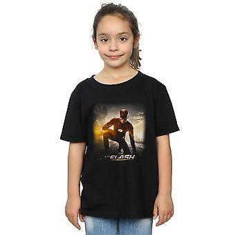 DC Comics девочек флэш-будущей дороги футболку
