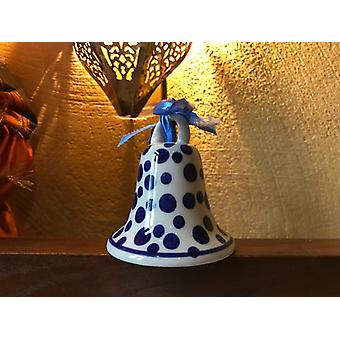 Bell small, 7.5 cm high, crazy dots, BSN A-0282