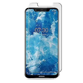 Nokia 8.1 Gehärtetes Glas Bildschirm Schutz Einzelhandel