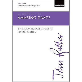 Amazing Grace - SATB vokal Score av John Rutter - 9780193416437 bok