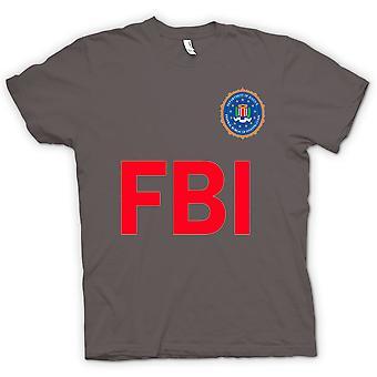 Mens t-skjorte - FBI USA - politiet