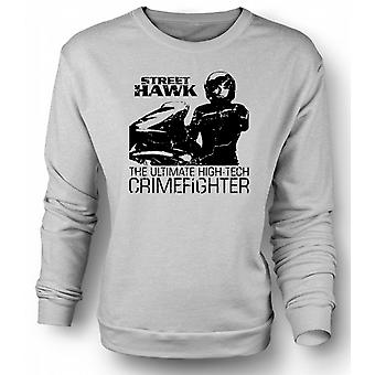 Mens Sweatshirt Street Hawk - Bike - Crime Fighter