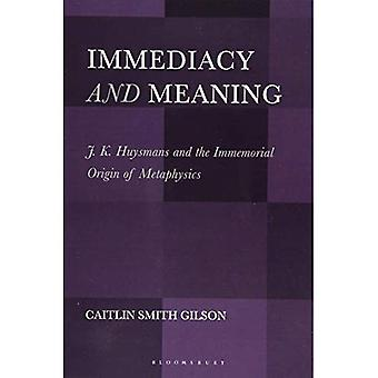 Immediacy and Meaning