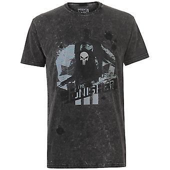 Character Mens Marvel Wash T Shirt