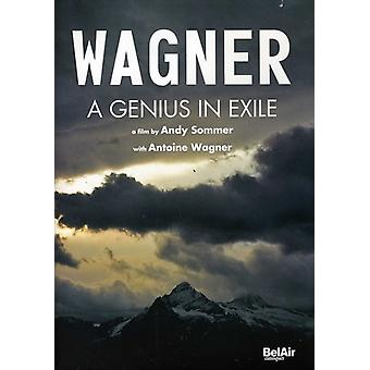 R. Wagner - Genius in Exile [DVD] USA import