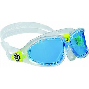 Aqua Sphere Seal Kid 2 Swimming Goggle - Blue Lenses - Clear