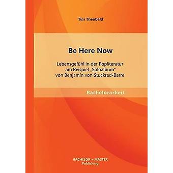 Be Here Now Lebensgefhl in der Popliteratur am Beispiel Soloalbum von Benjamin von StuckradBarre by Theobald & Tim