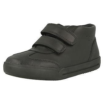 בנים Clarks היי נעלי בית הספר העליון נעליים מיני איידול