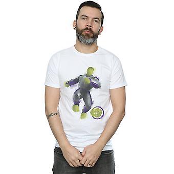 Marvel hommes Avengers Endgame peint Hulk T-Shirt