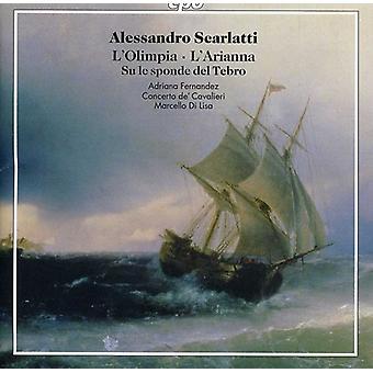 A. Scarlatti - Alessandro Scarlatti: L'Olimpia; L'Arianna; Su Le Sponde Del Tebro [CD] USA import