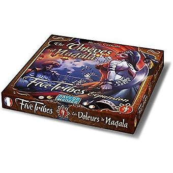 Days of Wonder Five Tribes Thieves of Naqala Explansion Pack - 6 New Thief Cards