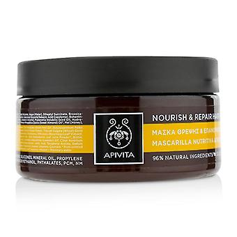 Apivita Nourish & Repair Hair Mask With Olive & Honey (for Dry-damaged Hair) - 200ml/6.81oz