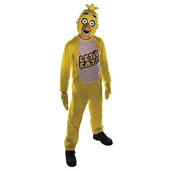 Child Chica Costume- Five Nights at Freddy's