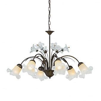 Ideale Lux Tirol 6 lamp hanglamp