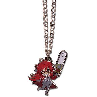 Necklace - Black Butler - Chibi SD Grell Metal New Anime Licensed ge35621