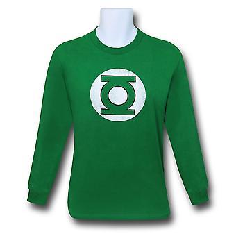 Green Lantern Distressed Symbol Long Sleeve T-Shirt