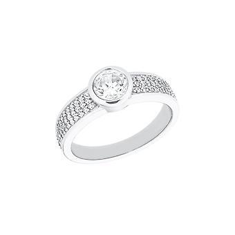 s.Oliver Jewel Women's Ring Silver 925 Zirconia 202609
