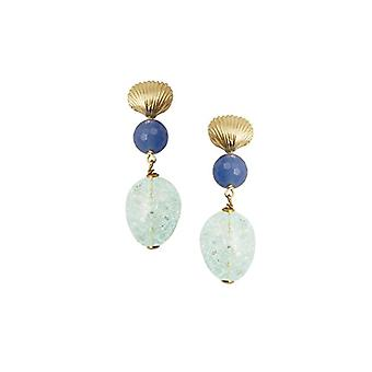 Misis Or08861 Pendulum and Silver Drop Earrings 925