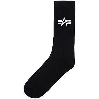 Alpha Industries unisex sokker grunnleggende tre Pack