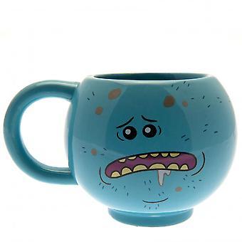 Rick e Morty 3D Mr Meeseeks Mug