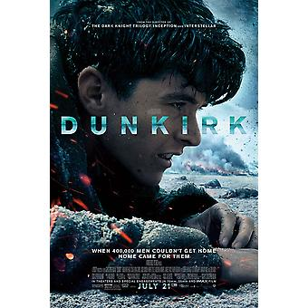 Dunkirk Original Movie Poster Final Style (Fionn Whitehead)