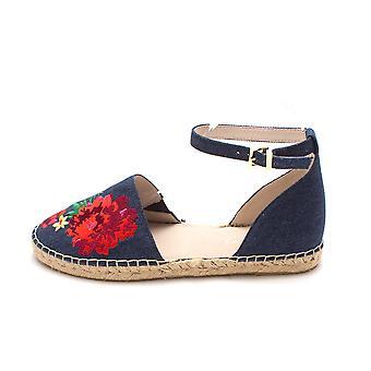Kenneth Cole New York Womens blair tyg stängd tå Casual espadriller sandaler