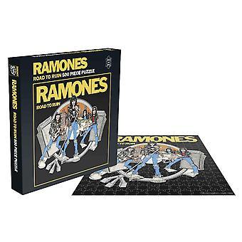 Ramones Jigsaw Road To Ruin Album Cover nowy oficjalny 500 Piece
