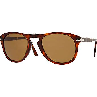 Persol 0714 Steve McQueen Polarized Brown Scale