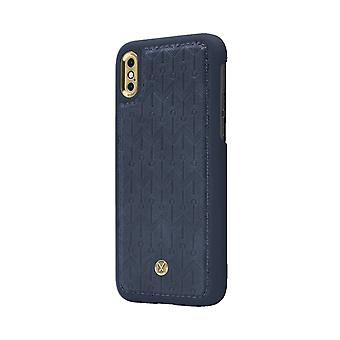 Marvêlle iPhone Xs Max Magnetic Case Blue Signature